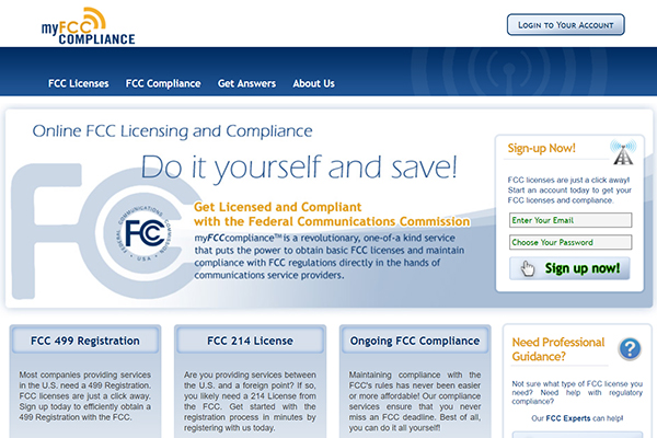 MyFCC Compliance