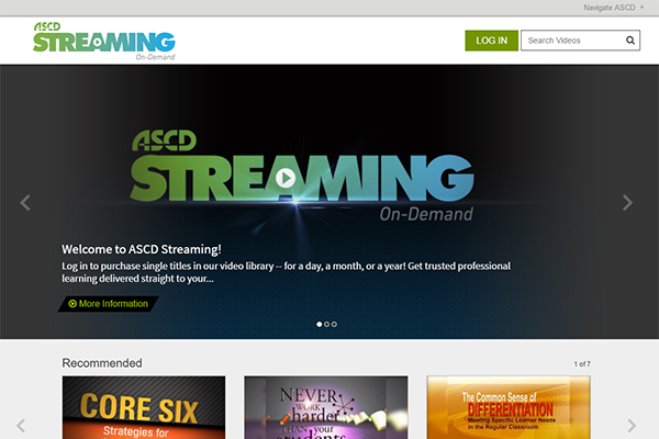 ASCD Streaming